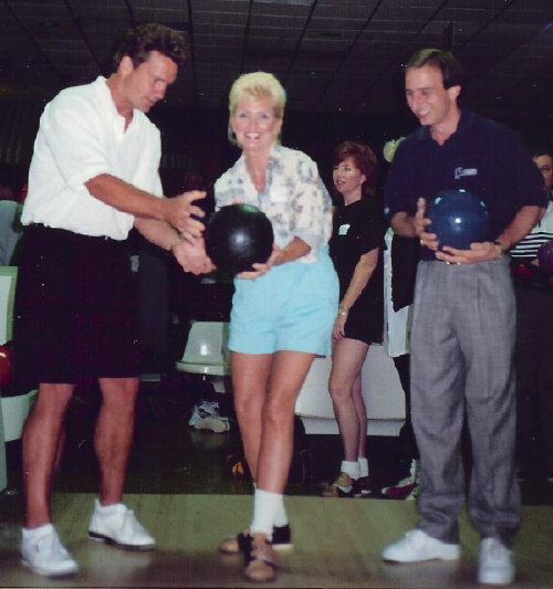 Kelly with Brian Voss & Norm Duke