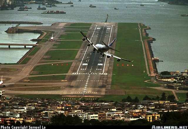 this runway looks mighty short
