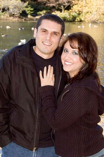 Elisa and Angelo are ENGAGED!!!