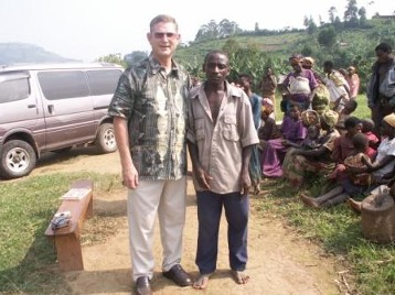 The village Chief receives Jesus as his savior