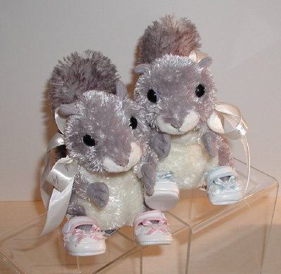 6 Sugar Bush Squirrel Stuffed Animal