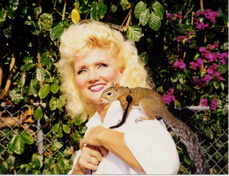 Kelly Foxton and Sugar Bush Squirrel
