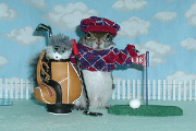 sugar bush squirrel golf father's day caddie