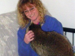 Carrie & Meeko the Raccoon